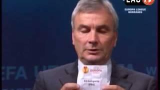 EAG-TV - Tirage au sort Europa League Guingamp - Hambourg
