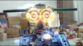 Robot Warfare  at home (After Effects)