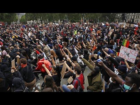"""Нет справедливости, нет мира"": акция протеста в Лондоне…"