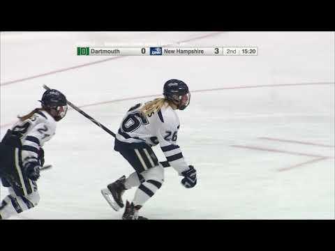 UNH Women's Hockey Vs Dartmouth Highlights (10-22-17)