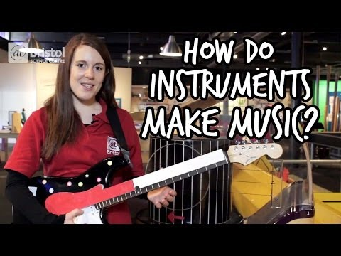 How do instruments make music? | We The Curious