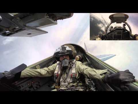 MiG-29 Flight Robert Tilley - shown on RussiaToday