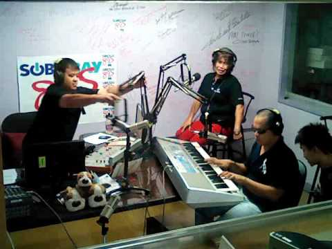 Ninos Pag Asa Center BLIND PERFORMERS @ 89.5-FM Subic Bay Ra