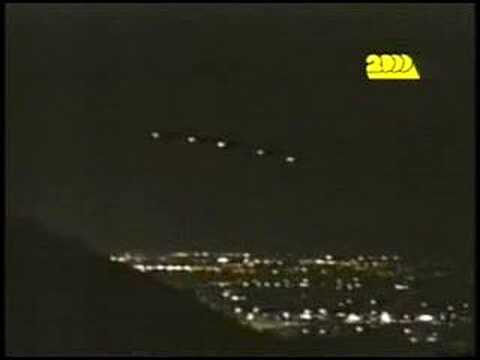 UFO - Phoenix Lights, March 13, 1997.