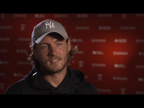 Rogers Cup sit down with Lucas Pouille