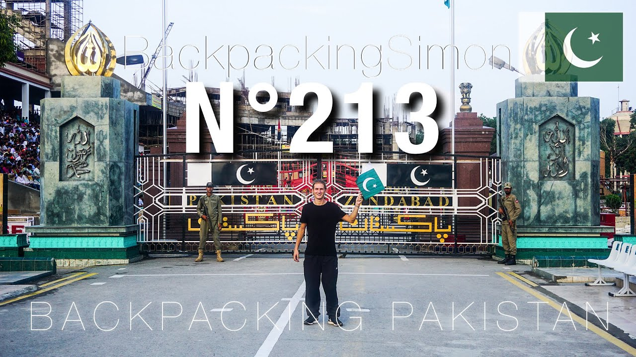 Wagah Border Zeremonie Pakistan Zindabad / Weltreise Vlog / Backpacking #213