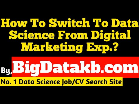 How To Become A Data Scientist Being From Digital Marketing Background?