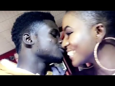 Kuami Eugene Dating Ahuofe For Real - Caught Kissing