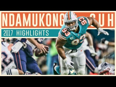 Ndamukong Suh 2017 Miami Dolphins Highlights