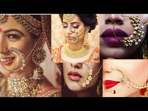 Latest Bridal Nose Rings Nath Nathni Collection For 2019 Wedding