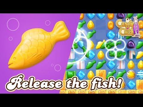 Candy Crush Soda Saga: Release the fish! thumbnail
