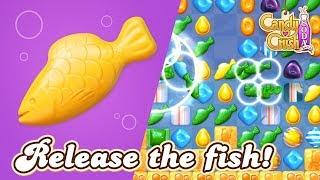 Candy Crush Soda Saga: Release the fish!