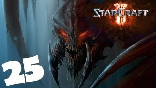 StarCraft 2 Heart of the Swarm Campaign Walkthrough Part 25 Gameplay Review Lets Play HD Hard PC.