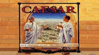 Caesar gameplay (PC Game, 1992)