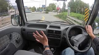 1995 Subaru Domingo Test Drive - 4WD GV 115,000km