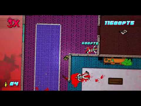So I'm Working On A Hotline Miami 2 Custom Campaign And This Is What I Made So Far!