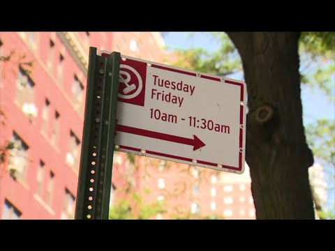 NYC alternate side parking rules amended; New Yorkers will only need to move cars once a week