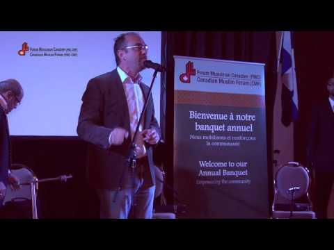 M  Stéphane Gendron, récipiendaire de prix de reconnaissance