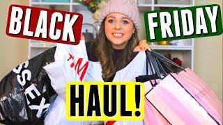 HUGE BLACK FRIDAY Haul 2017 u0026 Try On! Black Friday Shopping!