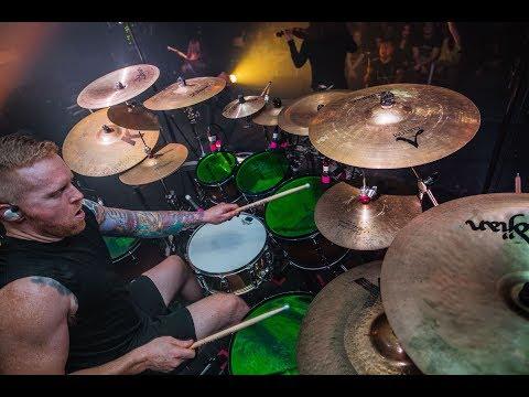 ROADKILL - Drum Cam Footage Of Ne Obliviscaris.