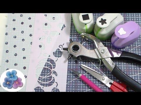 Como Hacer Plantillas Decorativas How to Make a Stencil