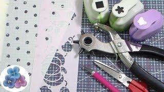 Como Hacer Plantillas Decorativas *How to Make a Stencil* Tutorial Español Pintura Facil