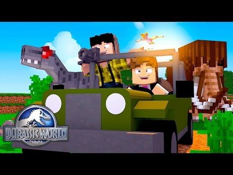 Minecraft: SAFARI DE DINOSSAUROS ! - JURASSIC WORLD  ‹ LOKI ›