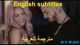 Shakira - Chantaje ft. Maluma (مترجمة للعربية ) AND English subtitles