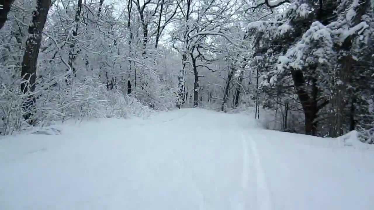 Cross Country Skiing Kettle Moraine Scenic Fresh Snow ...