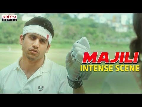 Naga Chaitanya Intense Cricket Match | Majili Movie (2020) Hindi dubbed | NagaChaitanya, Samantha
