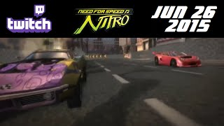 Stream Archive - Need for Speed: Nitro - 6/26/15