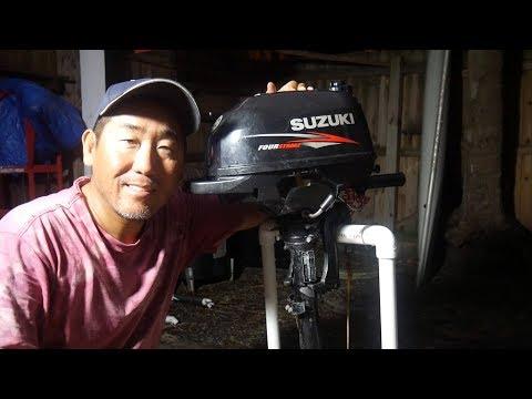 Suzuki 2.5 HP Outboard – Head Gasket Repair – Thanks Supporters