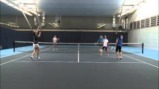 Cardio Tennis - Cool Down - Up and Over