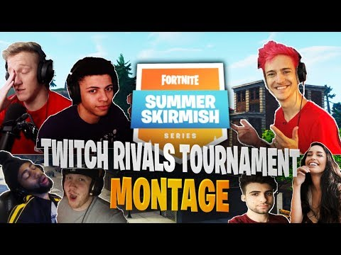 Fortnite Twitch Rivals Summer Skirmish Tournament Montage (Week 6)
