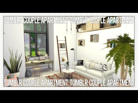 The Sims 4 House Build Tumblr Couple Apartment YouTube