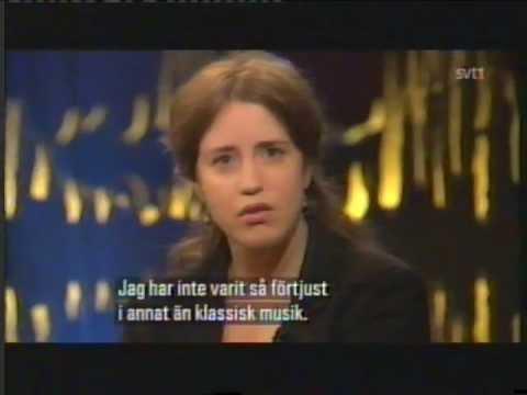 2012 09 07.Vilde Frang intervju på Skavlan.