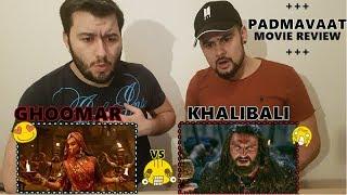 """[German Reaction] Padmaavat """"Ghoomar"""" & """"Khali Bali""""+Movie Review-Bollywood-Deepika😍Ranveer😎"""