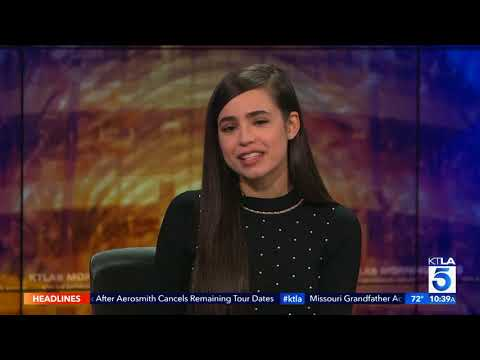 Sofia Carson Talks Singing, Acting and Student Life