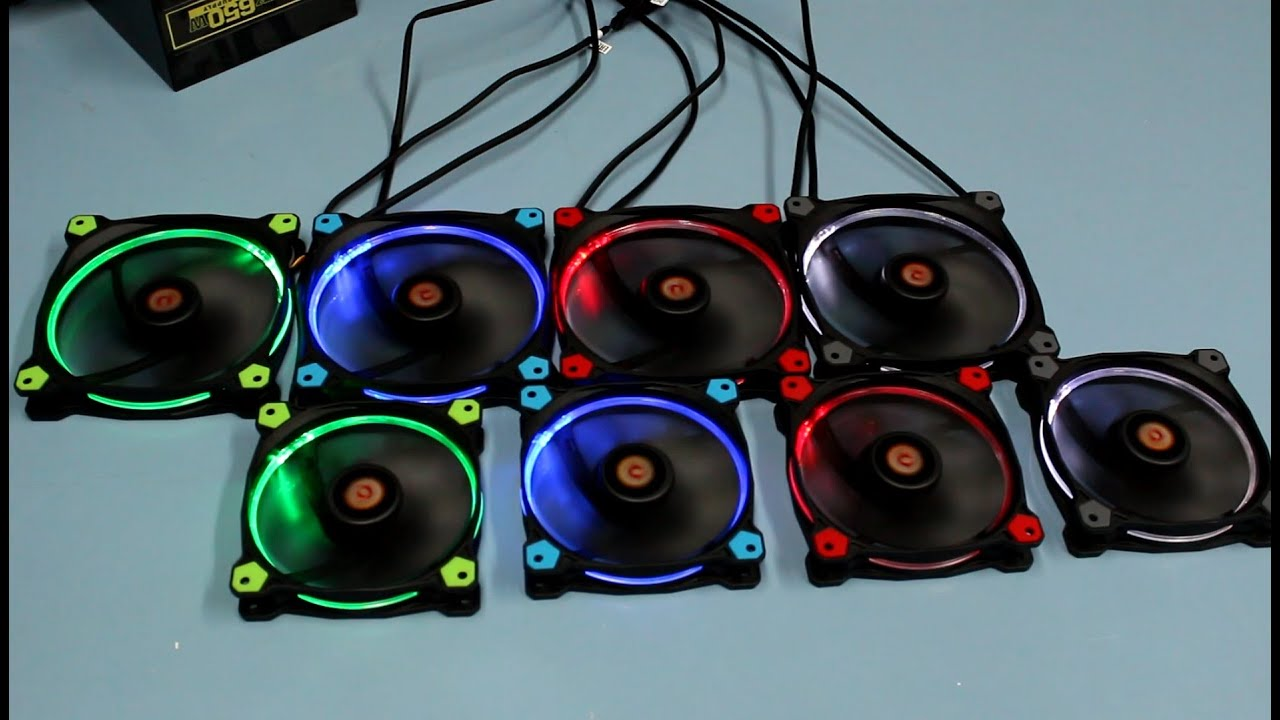 Thermaltake Riing High Static Pressure Fan Overview Youtube