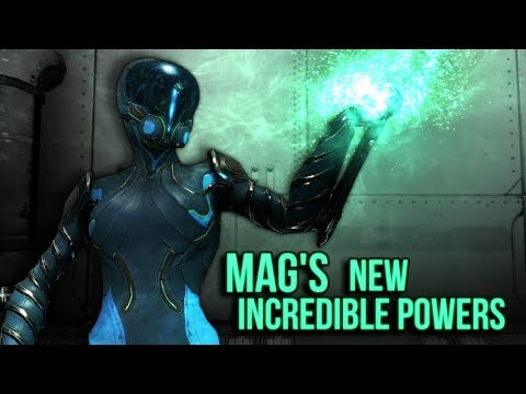 Mag's New Incredible Powers