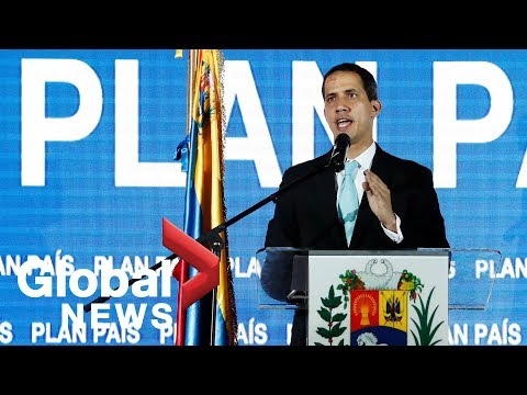"Opposition leader Juan Guaido presents his ""national plan"" for Venezuela"