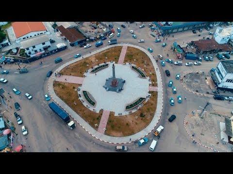 Découvrir Le Congo - Rond Point De La République (ex LUMUMBA)   République du Congo