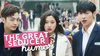 the great seducer he s already annoying humor