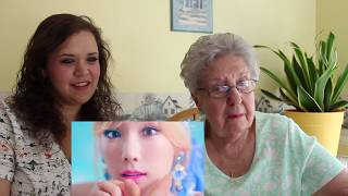 "My Grandmother Reacts! SNSD ""Lion Heart"" & SHINee ""Hello"" MV Reaction"