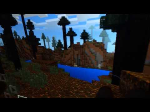 Minecraft PE ep 1. Mossy Cobblestone/sheep grandmother