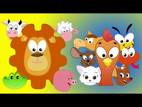 Tier sound Lied | Lieder für Kinder | lernen Tiere klingen | Kids Learning | Animals Sound Song