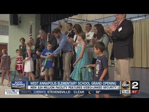 West Annapolis Elementary School grand opening