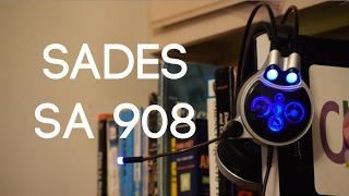 sades SA-908 Unboxing & Review