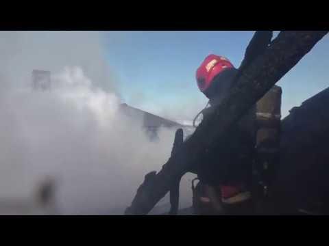 MNSCHE: Рятувальники ліквідували пожежу в  Чернівецькому транспортному коледжі