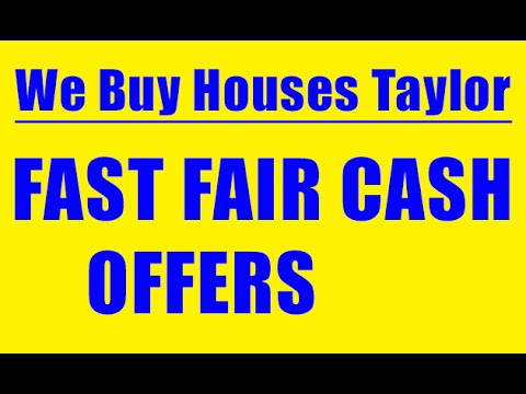 We Buy Houses Taylor - CALL 248-971-0764 - Sell House Fast Taylor